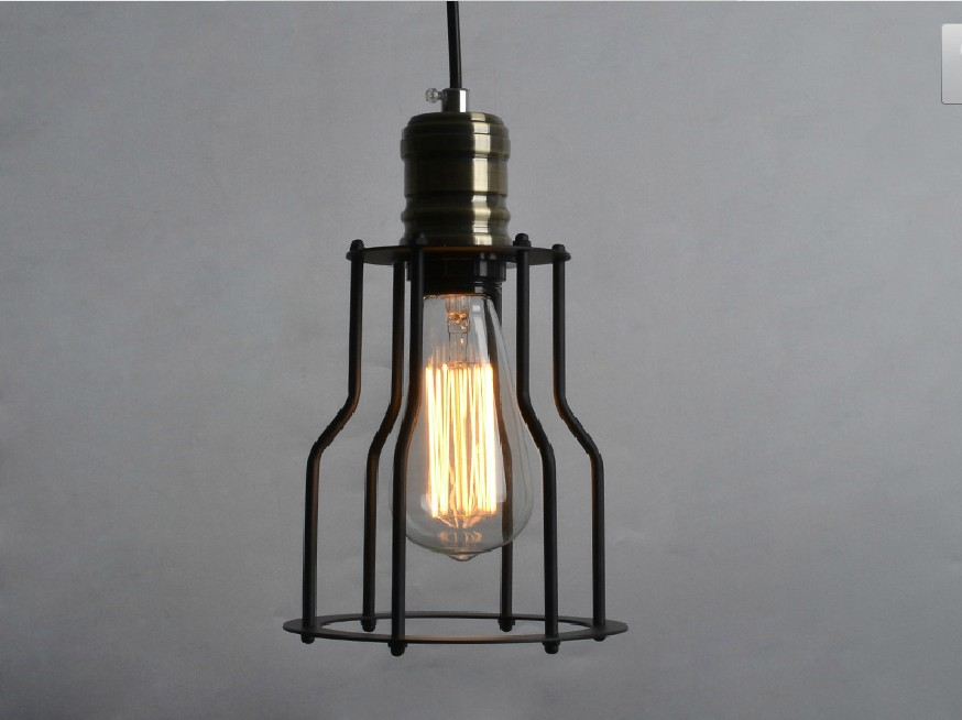 Free shipping 5088S American style Edison vintage industrial ceiling lamp/Edison Pendant lights free shipping 5026l replica designer edison industrial vintage wall lamp