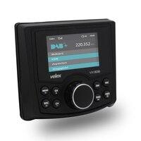 Водостойкий Bluetooth цифровой медиа морской стерео приемник с аудио/видео плеером DAB + AM FM потоковая музыка лодки мотовездеход ATV Spa