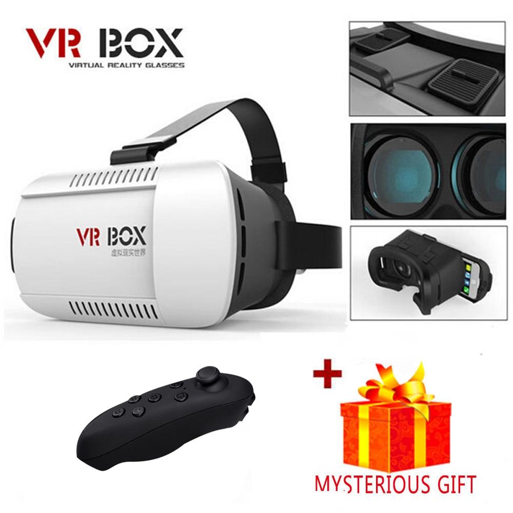 Vrbox шлем VR коробка гарнитуры видео 3 D 3D виртуальной реальности Очки очки смартфон шлем smart объектива Google cardboard cardbord