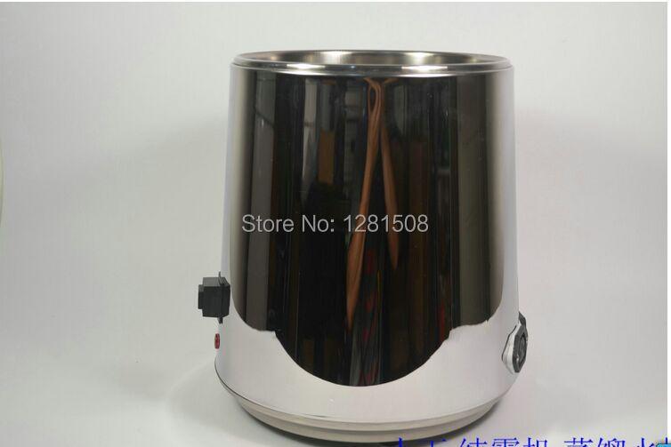 Certificato CE distillatore D'acqua In Acciaio Inox depuratore di acqua con vaso di vetro e corpo in acciaio - 5