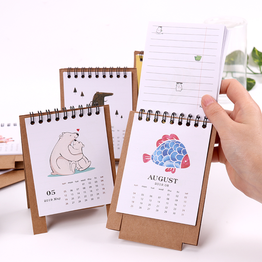 Office & School Supplies 2019 Creative Venice Aegean Sea Church Table Desktop Calendar Agenda Organizer Daily Scheduler Planner 2018.06~2019.12 Calendar