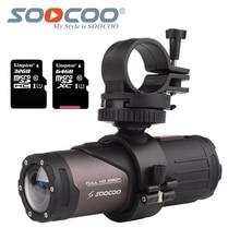 SOOCOO S20w กล้องกันน้ำ Action กล้องใต้น้ำกีฬา Onderwater สีดำ cam bullet สำหรับจักรยานปืนจักรยานหมวกกันน็อกกล่อง