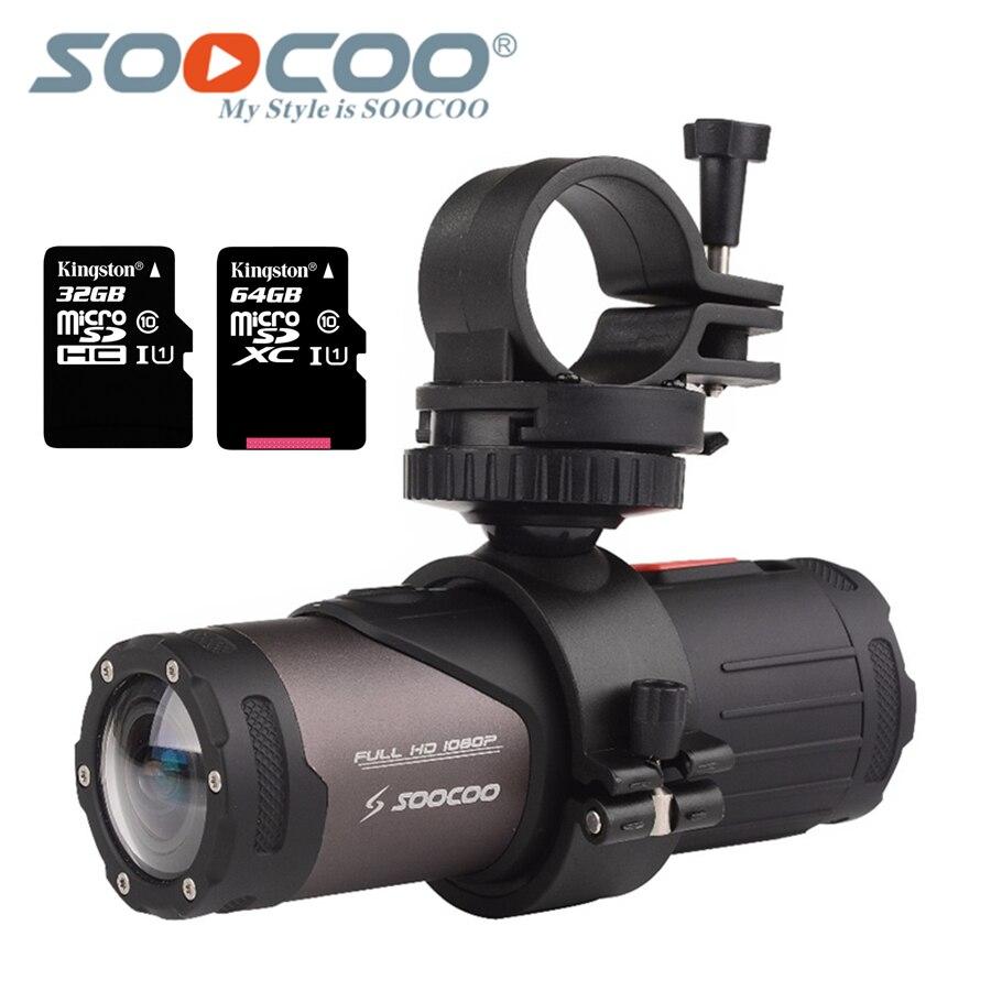 SOOCOO S20w Wasserdichte Kamera Action Unterwasser Kamera Sport Onderwater schwarz cam bullet für bike fahrrad gun helm mit box