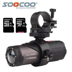 Image 1 - SOOCOO S20w Waterproof Camera Action Underwater Camera Sport Onderwater black cam bullet for bike bicycle gun helmet with box