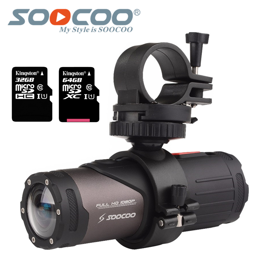 SOOCOO S20w Waterproof Camera Action Underwater Camera Sport Onderwater black cam bullet for bike bicycle gun helmet with box image