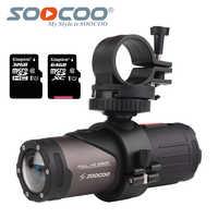 SOOCOO S20w wodoodporna kamera Action aparat podwodny Sport Onderwater czarna kula cam na rower kask rowerowy z pudełkiem