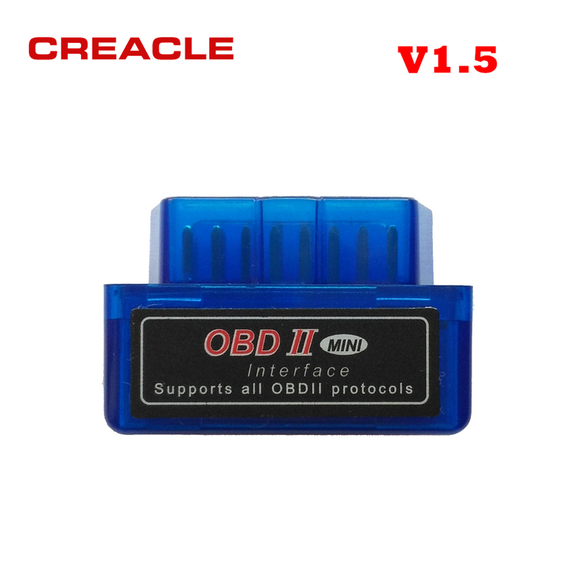 ELM327 V1.5 lector de código Bluetooth OBD2 escáner Mini ELM 327 V1.5 herramienta de diagnóstico compatible con protocolo completo Mini ELM327 V 1,5 Nuevo ELM327 USB OBD2 herramienta de diagnóstico de Auto coche ELM 327 V1.5 interfaz USB OBDII CAN-BUS escáner Venta caliente ~