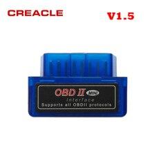 Scanner Elm327 V1.5 Bluetooth Obd2 Support Code-Reader Elm 327 Diagnostic-Tool Mini Full-Protocol
