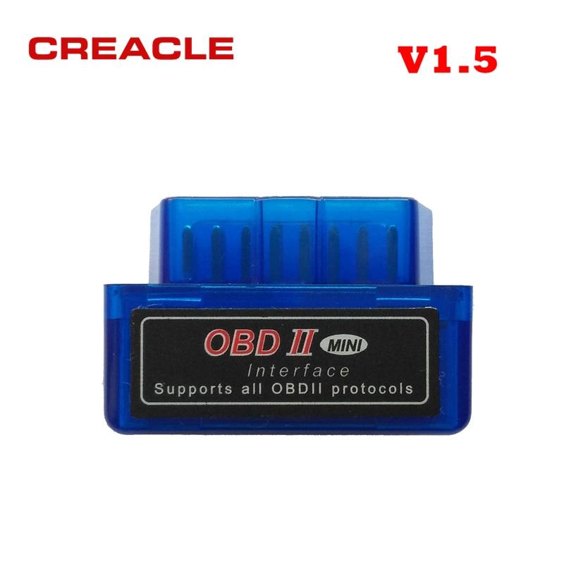 ELM327 V1.5 Code Reader Bluetooth OBD2 Scanner Mini ULME 327 V1.5 Diagnose-Tool Unterstützung Voll Protocol Mini ELM327 V 1,5