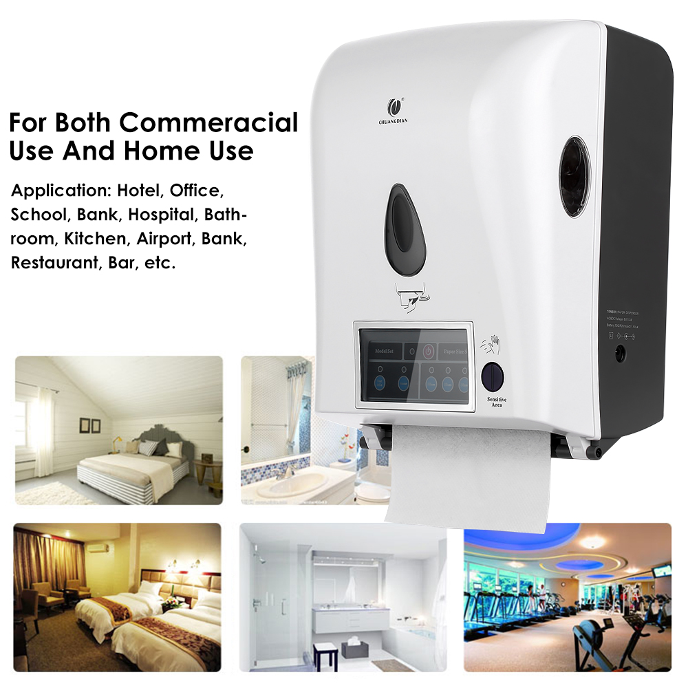 Automatic paper towel dispenser for home - Free Online Shop Automatic Sensor Roll Paper Towel Dispenser Wall Mount With Automatic Paper Towel Dispenser For Kitchen