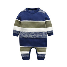 Hot Sales Knitted Baby Clothes Stripe Baby
