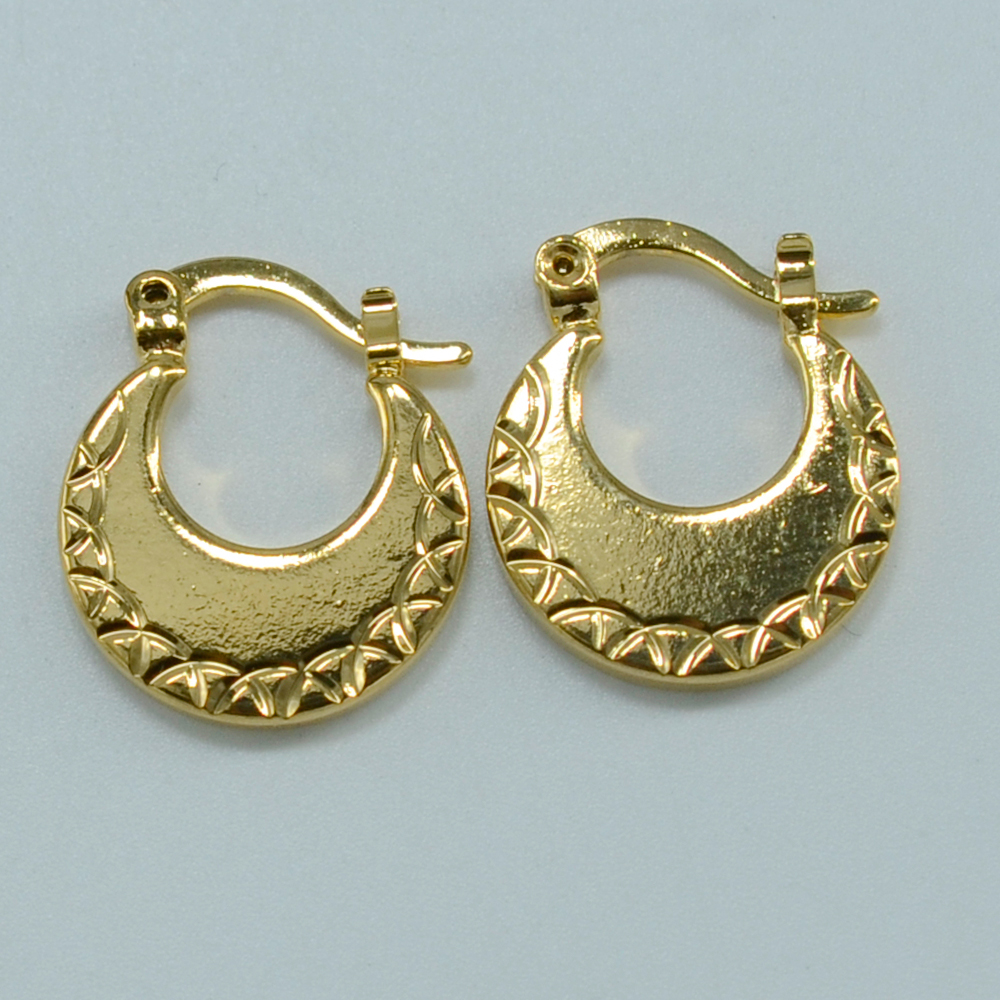 Anniyo 1.99$ Wholesale Earrings for Kids Gold Color Jewelry Small ...