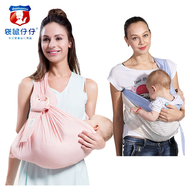 Kangaroo Newborn Baby Carrier Crossbody Holding Multifunctional