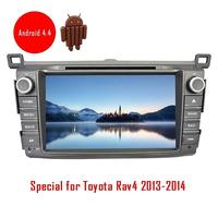 Free Canbus For Toyota RAV4 2013 2014 In Dash Car DVD GPS Player Automotive Video FM