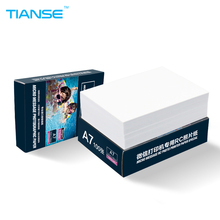 TIANSE A7 RC luminous photographic paper for WeChat printer 100 sheets/pack High glossy photo paper 260g Waterproof Album Cover