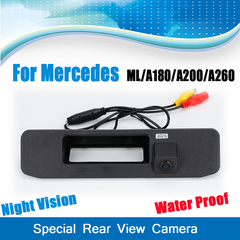 special rear view camera for mercedes benz ml class w164 for mercedes benz a180 a200 a260 on. Black Bedroom Furniture Sets. Home Design Ideas