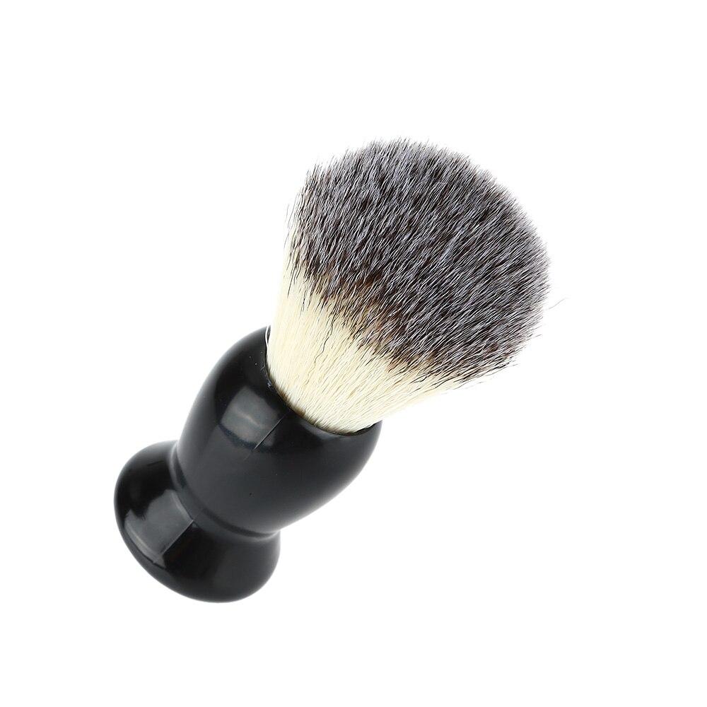 превосходное парикмахерская кисточка для бритья черной ручкой барсука уход за кожей лица борода тематические товары про рептилий и земноводных для мужчин бритья бритвы кисточки тематические товары про рептилий и земноводных прибор инструменты