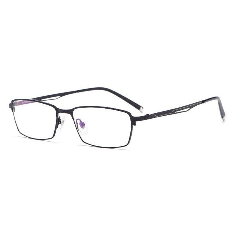 Reven Jate A60033 Full Rim Titanium Alloy High Quality Eyeglasses Frame for Men and Women Optical