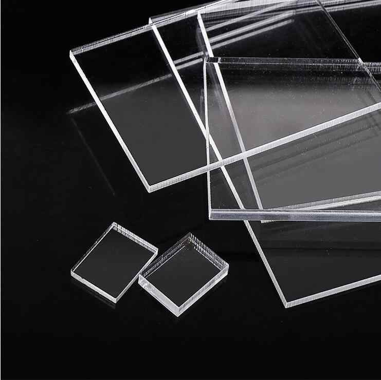 1mm 2mm 4mm Thickness Acrylic Clear Perspex Sheet Cut Plastic Transparent Board Perspex Panel Durable Doors And Signage Decor Aliexpress