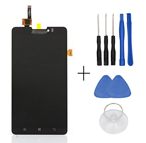LCD Display Touch Digitizer Screen Assembly Complete For Lenovo P780 free tools