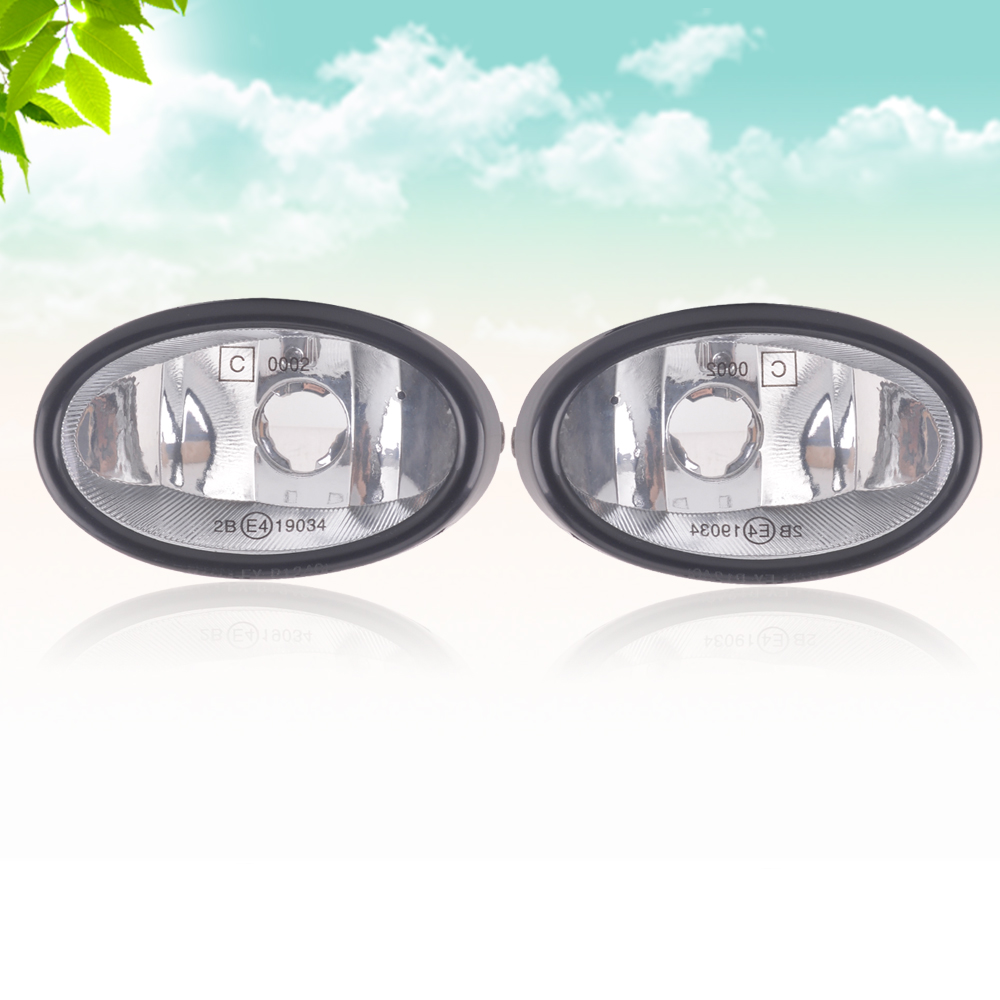 capqx front bumper fog light for honda accord 3 0l 1998 2002 civic es1 es5 2001 2004 stream rn3 2004 driving foglight fog lamp [ 1000 x 1000 Pixel ]