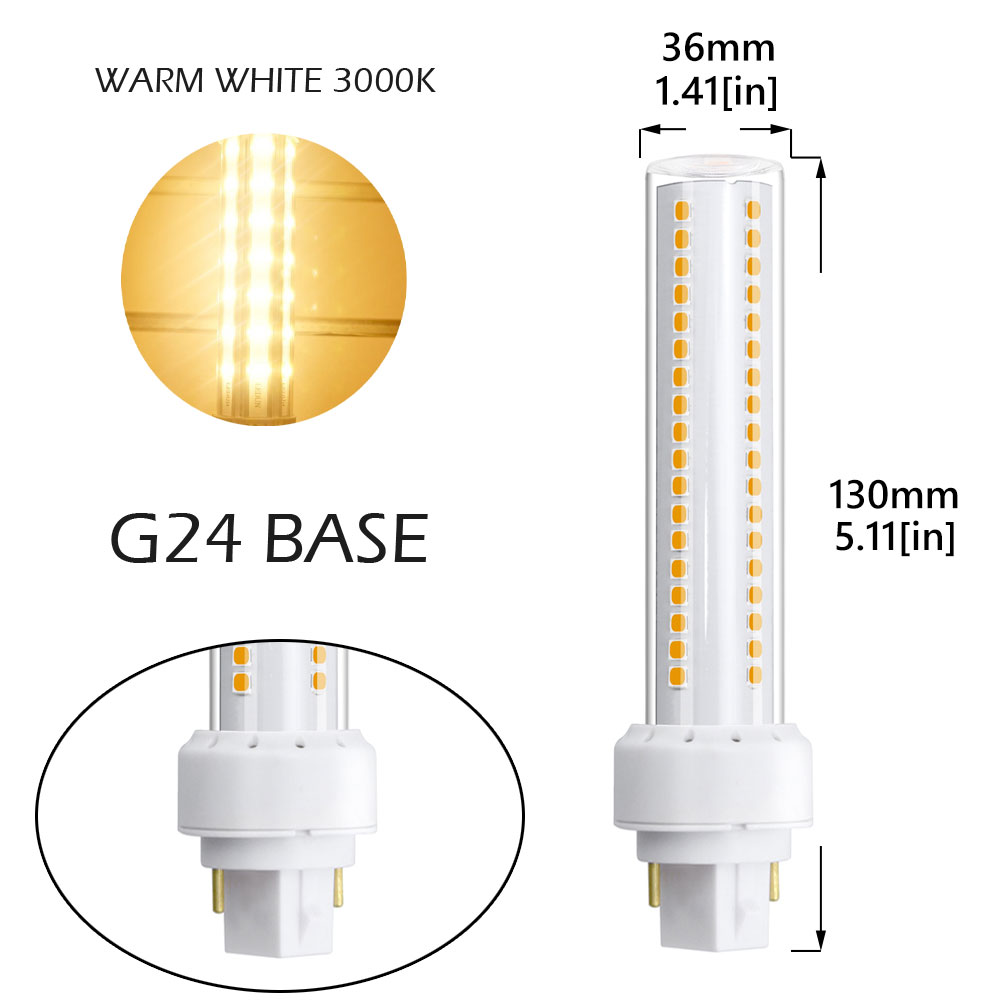 led g24 wiring diagram wiring libraryaliexpress com buy led g24 2 pin light bulb 12w g24q [ 1000 x 1000 Pixel ]