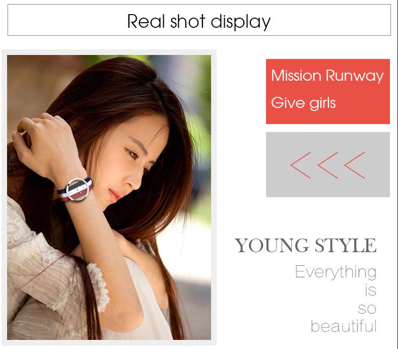 DOM: Reloj de pulsera de lujo para mujer 17