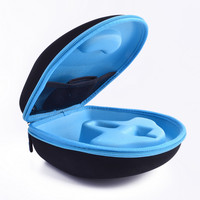Original EVA Big Headphone Box Case For 50 Cent Big Headband Headphone Double Zipper Travel Anti