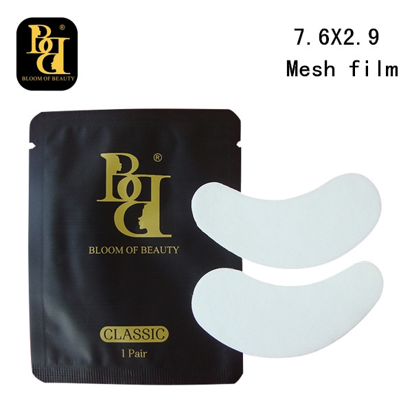 BB brand normal type mesh film 200pairs lot the thinnest lint free eye patch under eye