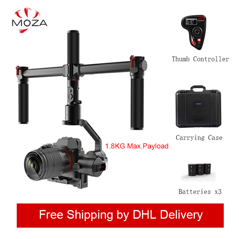 MOZA AirCross 3 Axis Handheld Gimbal Stabilizer Cameras Multi-Contro For Mirrorless Camera up 3.9lb/1800g for Micro-camera DSLR
