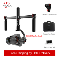 MOZA AirCross 3 Axis Handheld Gimbal Stabilizer Cameras Multi Contro For Mirrorless Camera up 3.9lb/1800g for Micro camera DSLR