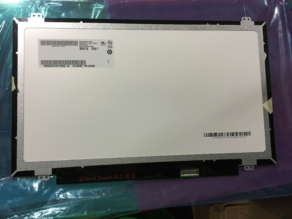 ФОТО 14.0'' LED SCREEN FOR Dell Inspiron 14-5447 7437 5439 5547 5445 3446  EDP 30 PIN  1366*768