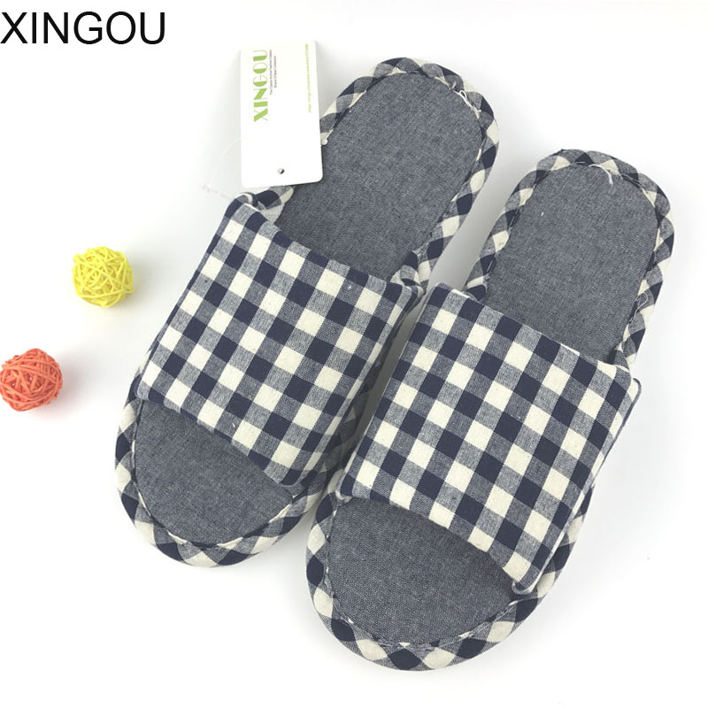 New linen home slippers men fashion 2018 Comfortable flax male slippers home fresh indoor home slipper Hemp men's slippers new 2017 fashion flax slippers men summer couple indoor home slippers male comfortable floor slippers home men hemp slides