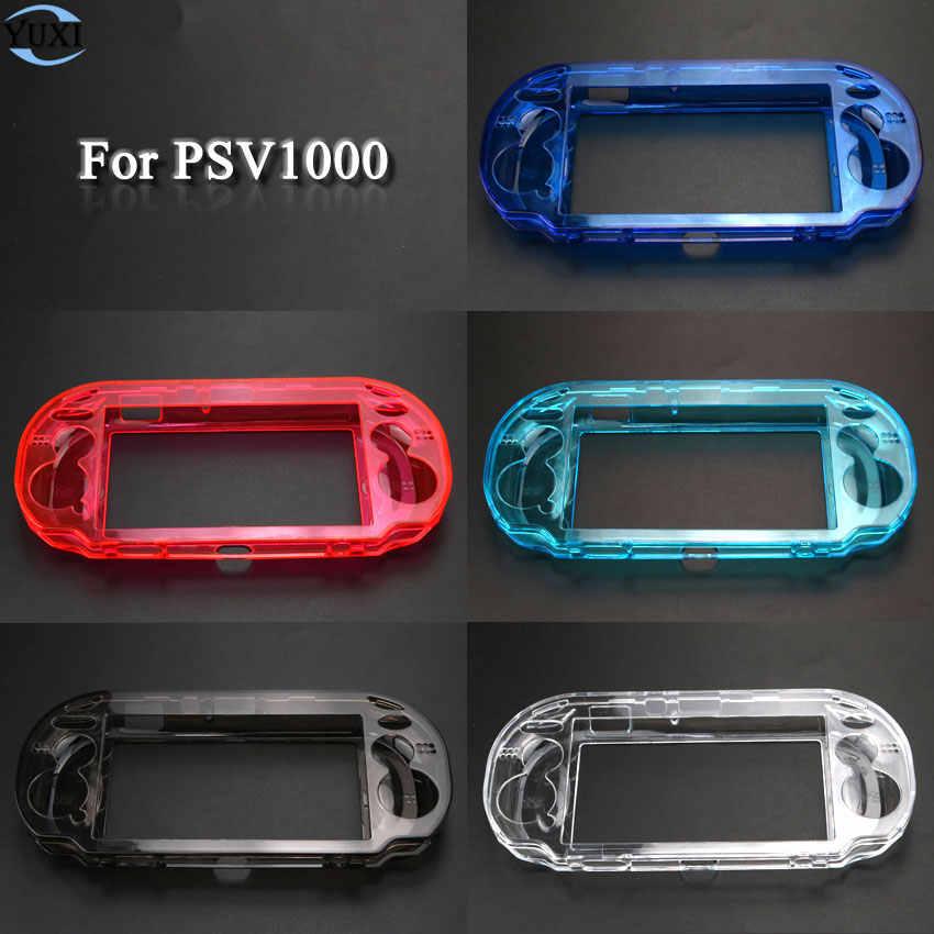 玉渓クリアハードケース透明な保護カバーソニー psv1000 Psvita PS ヴィータ PSV 1000 クリスタルボディプロテクター