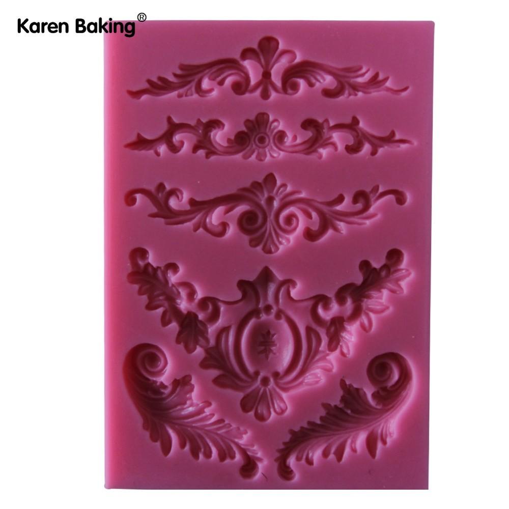 красивая форма Wet Chocolate конвертировать в 3D геля кремния Pad kruger место украшения РТ/кондиционеры инструменты, y021