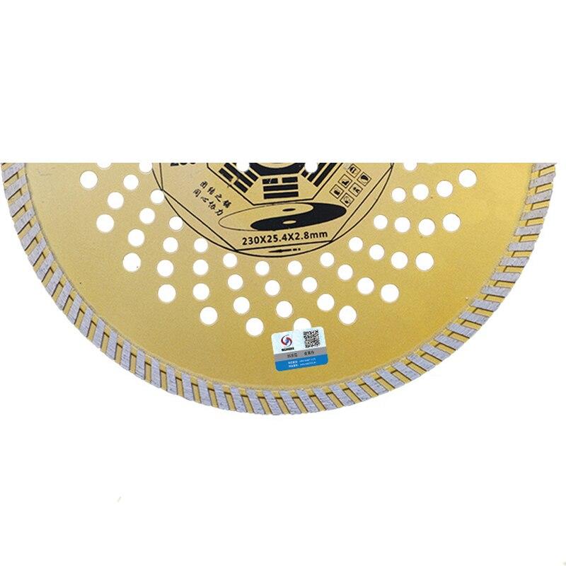 RIJILEI 9 pollici 230mm * 25,4 * 2,8 diamante ultrasottile disco - Lama per sega - Fotografia 4