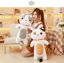 New Coming 1Pc 80cm 4Colors  kawaii cat pillow stuffed plush cat plush toys PP Cotton cloth doll Christmas present kids toys