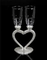 2016 Новинка Творческий свадебный подарок на день рождения подарок Красное Вино Кубок Стекло diamond свадьба чашки