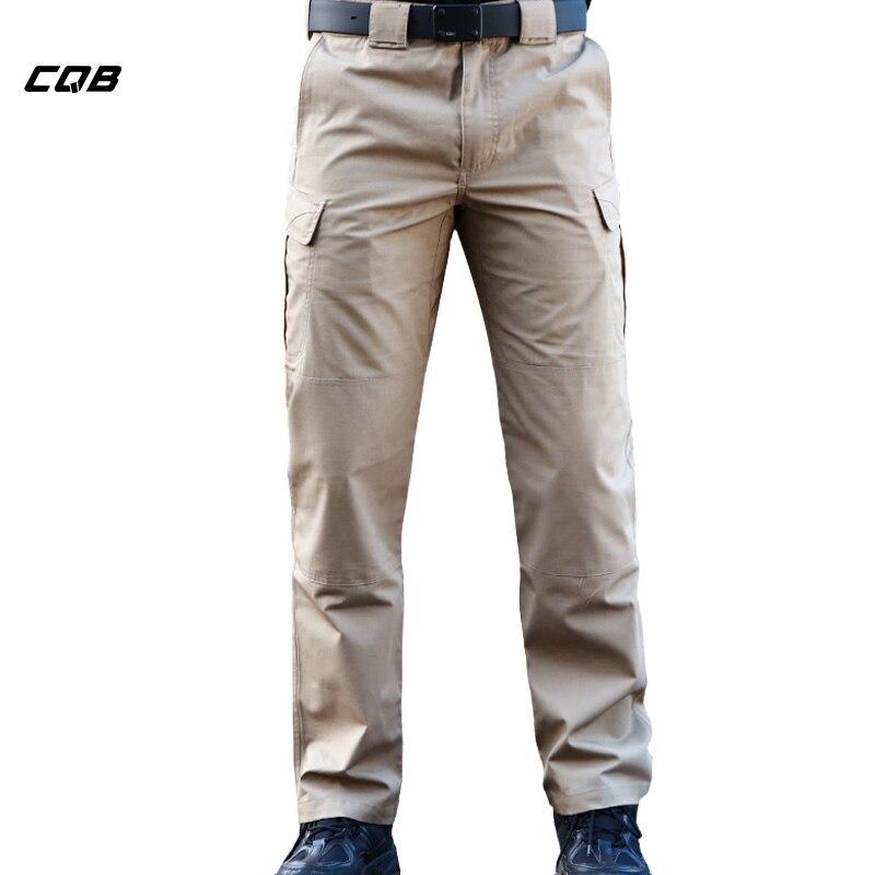 CQB Outdoor Sports Tactical Pantalones para hombre Four Seasons - Ropa deportiva y accesorios