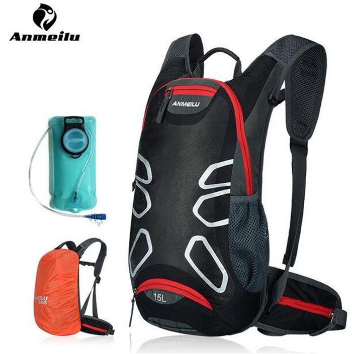 ANMEILU 15L Sports Cycling Backpack Hydration Bladder MTB Road Bike Bicycle Bags Outdoor Climbing Camping Hiking Bags Camelback стоимость