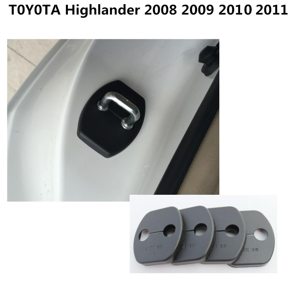 high quality for toyota highlander 2008 2014 car interior anti rust
