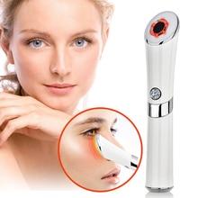 Facial Eye Ion Massager Face Lifting Anti Wrinkle Machine Skin Tightening Rejuvenation Anti Aging Device Eye Skin Care Tools