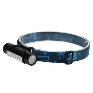 Image 3 - BORUiT COB LED Mini Headlamp 3 Mode 1000LM Powerful  Headlight Rechargeable Power Bank Waterproof Head Torch for Camping Hunting
