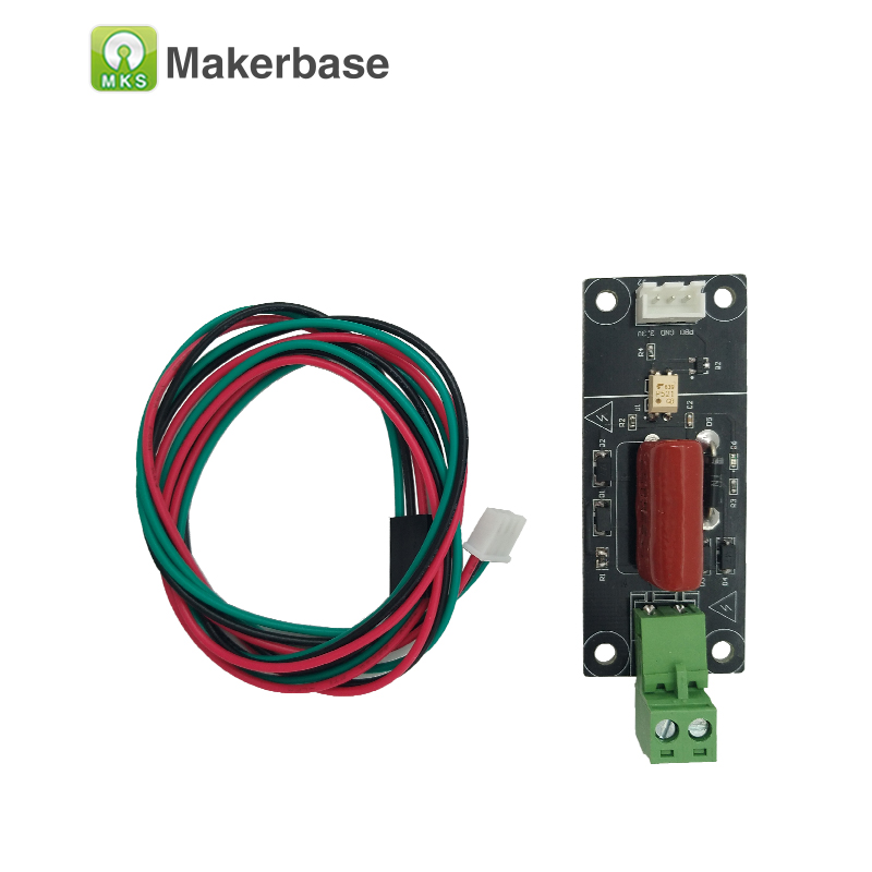 Piezas de impresora 3D MKS DET power outage detecting module power monitor detector para MKS TFT pantalla táctil