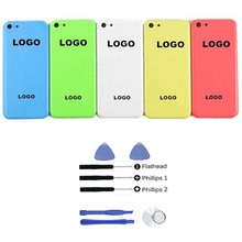 Five Color For iPhone 5c Replacement Chassis Back Cover Housing Case with LOGO& Buttons&Sim Tray High Quality + Free Tools