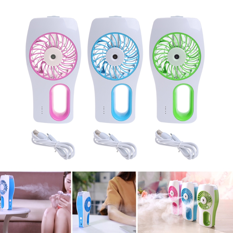 Handheld USB Misting Fan Personal Cooling Humidifier Portable Mini Desktop Fans handheld usb misting fan personal cooling humidifier portable mini desktop fans