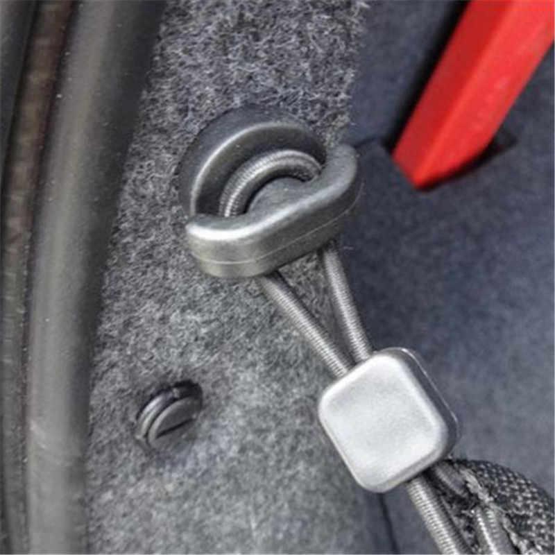 2 pièces voiture arrière coffre Net attache crochet anneau boucle suspendus Auto attache Clip Auto accessoires universel pour BMW Honda Toyota VW