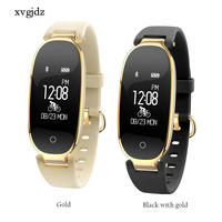 5 Colors Fashion S3 Bluetooth Waterproof Smart Watch Women Ladies Heart Rate Monitor Fitness Tracker Smart