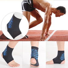 Elastic Ankle Support Safety Running Basketball Ankle Brace Protector Foot Bandage Guard compression socks Sports