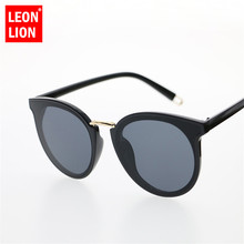 036b8e18a3 LeonLion 2018 High Quality Sunglasses Women Alloy Frame Sunglasses Men  Mirror Oculos Feminino Brand Designer Lentes